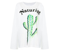 Naturist print sweatshirt