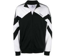 two-tone zipped jacket