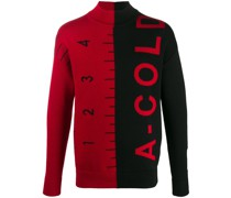 A-Cold-Wall* Jacquard-Pullover mit Logo