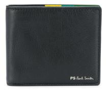 Portemonnaie mit Streifendetail
