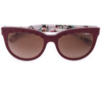 Sonnenbrille mit gewellten Details