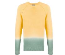 Gestrickter Pullover mit Farbverlauf
