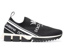 'Sorrento' Slip-On-Sneakers mit Logos