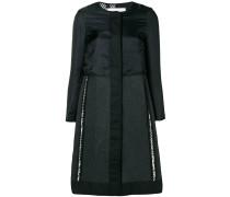 Mantel in zweifarbigem Design