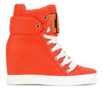 'Logomania' Wedge-Sneakers