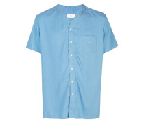 'Luca' Hemd mit V-Ausschnitt