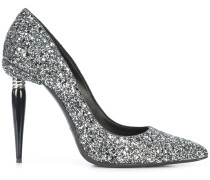 glitter MariaCarla pointed pumps