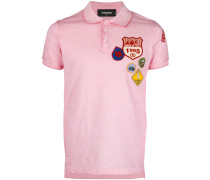 Poloshirt mit Patches