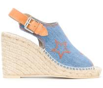 Sandalen in Jeansoptik