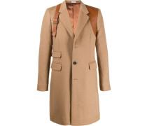 Mantel mit Zierriemen