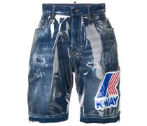 'K-way' Jeans-Shorts