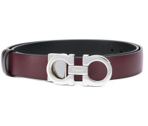 double Gancini buckle belt