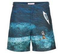'Bulldog Deep Sea' Badeshorts