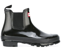 Chelsea-Boots mit Glanz-Finish