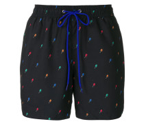 Ice Lolly embroidery swim shorts