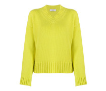 'Co In Lime' Kaschmirpullover