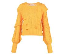 Gerüschter Pullover