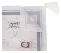Schal mit Insekten-Print