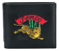Portemonnaie mit Tiger-Stickerei