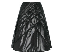 A-Line Quilted Mid-Skirt