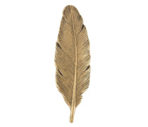 feather-shaped pin