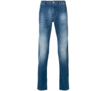 Jeans mit Washed-Effekt