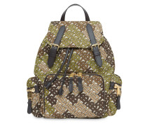 'The Medium' Rucksack mit Monogramm-Print