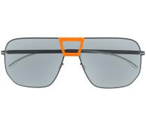 Oversized-Pilotenbrille