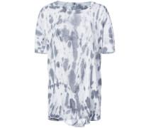 bleached effect baggy T-shirt