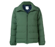 padded fitted jacket