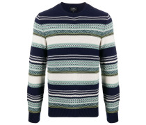 A.P.C. 'Maxence' Jacquard-Pullover
