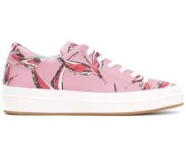 Sneakers mit Flamingo-Print