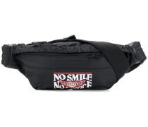 'No Smile No Service' Gürteltasche