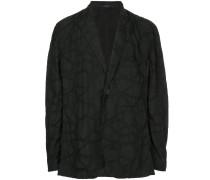 oversized patterned jacket
