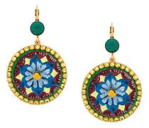 Majolica drop earrings
