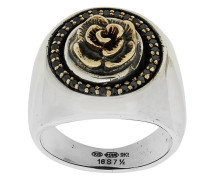 Ring mit Rosendetail