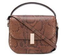 Handtasche mit Python-Effekt