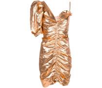 'Talma' Kleid im Metallic-Look