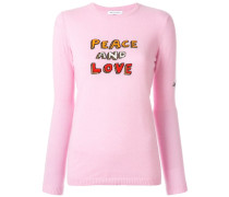 'Peace and Love' Pullover
