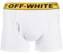 logo-embellished boxers