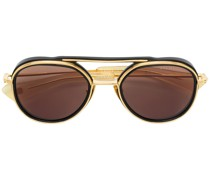 double frame round sunglasses