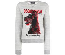 "Sweatshirt mit ""The Year of the Dog""-Print"