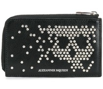 abstract skull stud wallet