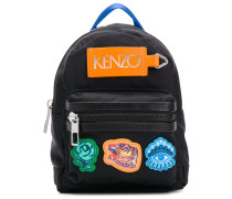 Mini Rucksack mit Patches