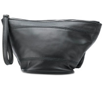 zipped cosmetic pouch