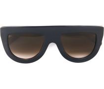 Sonnenbrille mit Visierform