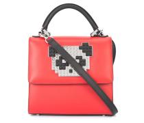 Mini 'Alex Metal Panda' Handtasche