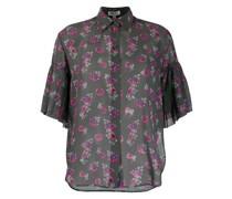 'Passion Flower' Sheer-Hemd