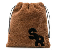 Mini Shearling-Handtasche