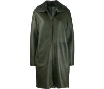 Mantel mit Nerzkragen